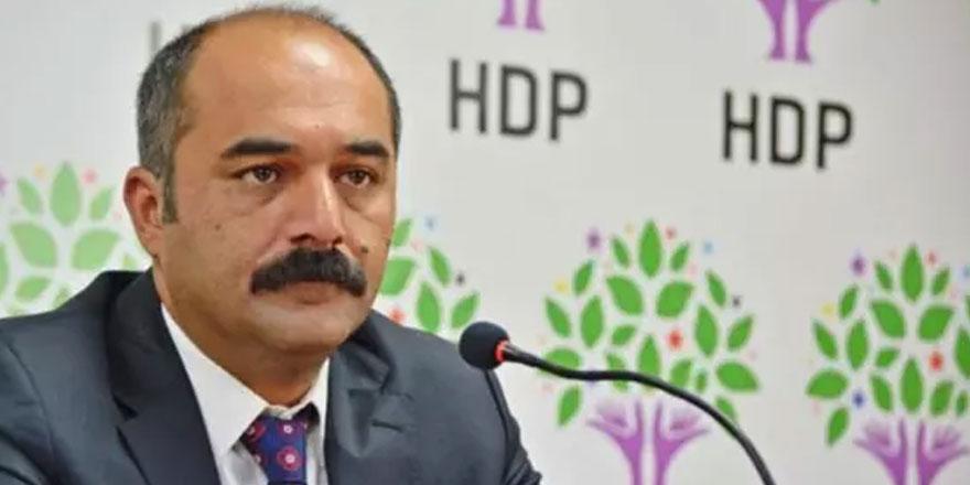 HDP milletvekili Berdan Öztürk hakkında terör soruşturması