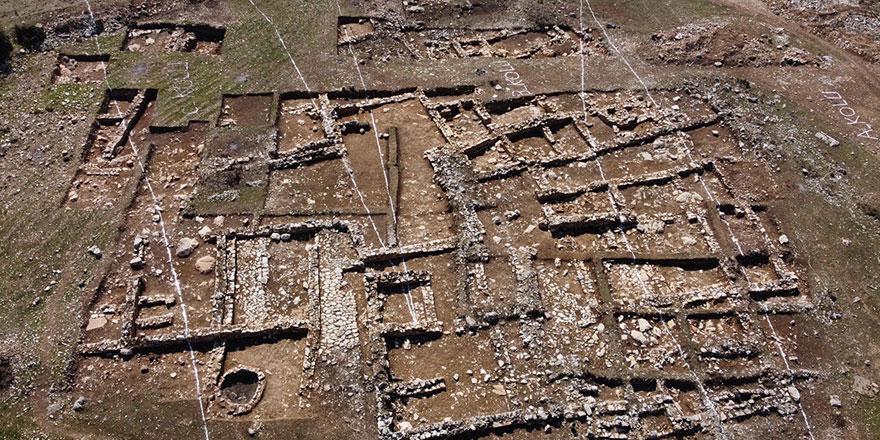 Denizli'de 2 bin yıllık yerleşim bulundu