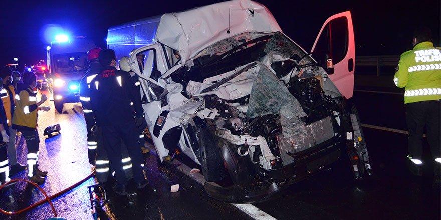 Aksaray'da feci trafik kazası! Furkan Güven hayatını kaybetti