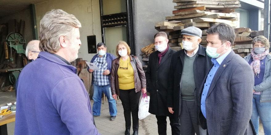 CHP Bursa Milletvekili Erkan Aydın: Mobilyacılar daha büyük sıkıntı yaşayacak!