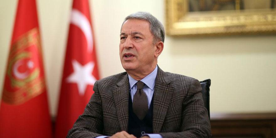 Milli Savunma Bakanı Hulusi Akar'dan Yunanistan açıklaması!