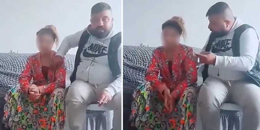 İğrenç görüntüler!Hasan Tuçlar isimli baba 15 yaşındaki kızını canlı yayında taciz etti