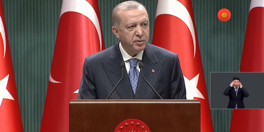 Cumhurbaşkanı Erdoğan: Mevcut uygulamalar bir süre devam edecek
