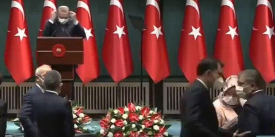 Kabine toplantısı sonrası Murat Kurum'dan Fahrettin Koca'ya dikkat çeken hareket