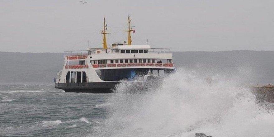 Deniz otobüslerine hava engeli