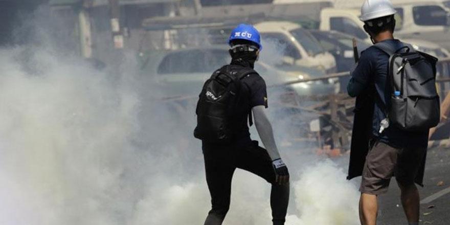 BM: Myanmar'daki protestolarda şu ana kadar 138 kişi öldürüldü