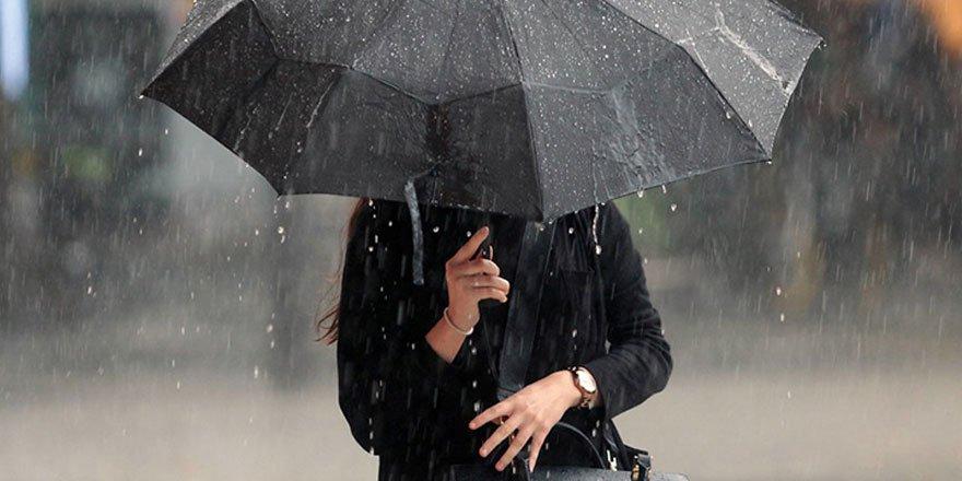 Meteoroloji uyardı! Çok sayıda kent için yağış geliyor!