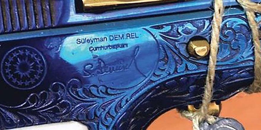 Süleyman Demirel'in silahı FETÖ operasyonunda ortaya çıktı