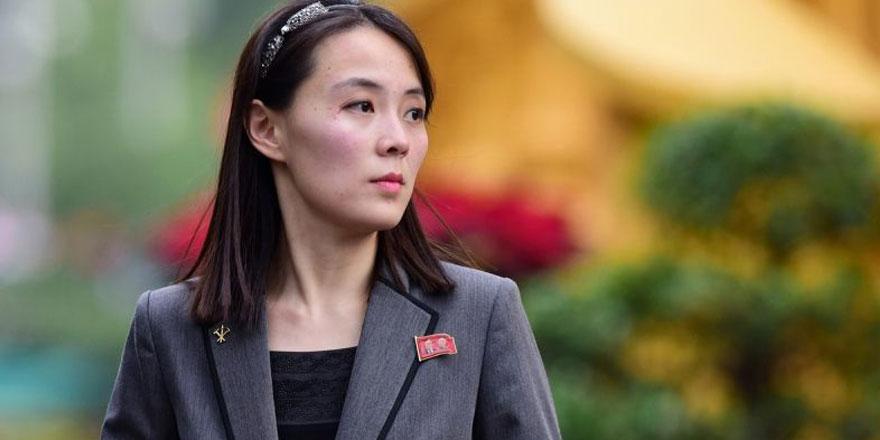 Kuzey Kore lideri Kim'in kız kardeşinden ABD'ye hodri meydan! Uykularınızı kaçıracak...