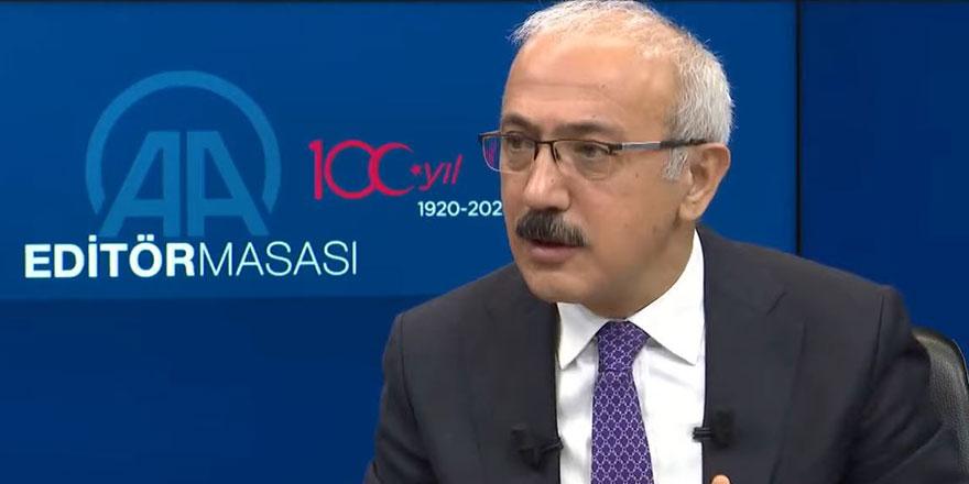Bakan Elvan canlı yayında açıkladı