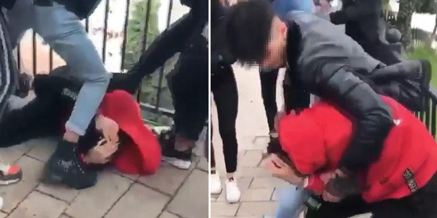 Bursa'da liseli gençlerin kavgası ortalığı karıştırdı!