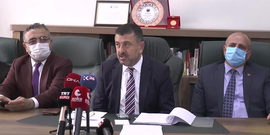 CHP Genel Başkan Yardımcısı Veli Ağbaba: Diyanet İşleri Başkanlığına Allah akıl fikir versin!