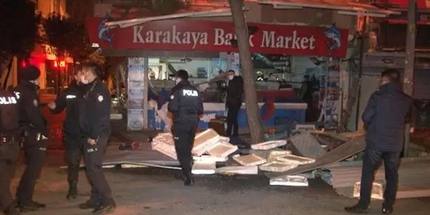 İstanbul Bağcılar'da korkutan patlama!