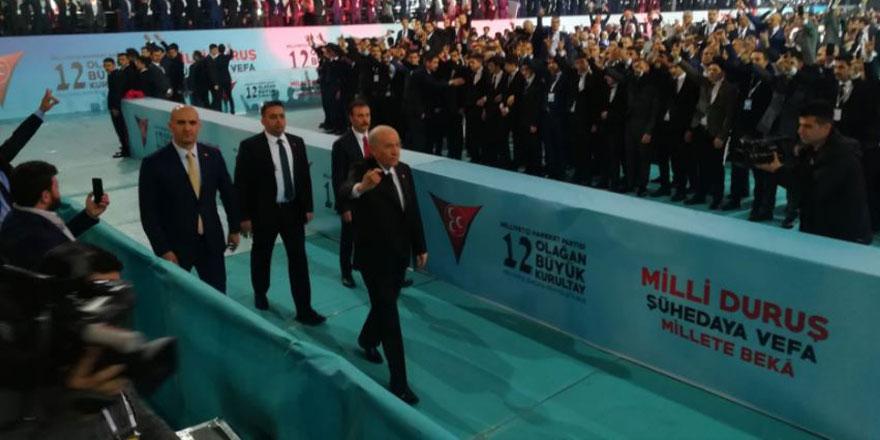 Devlet Bahçeli'nin tek aday olduğu MHP kongresine 3 parti davet edilmedi