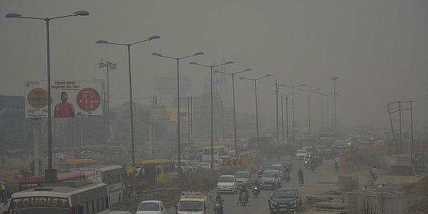 Yeni Delhi havası en kirli başkent oldu