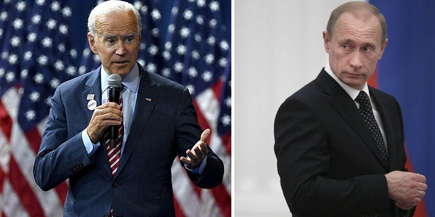 ABD Başkanı Joe Biden'dan Rusya Başkanı Vladimir Putin'e ağır sözler