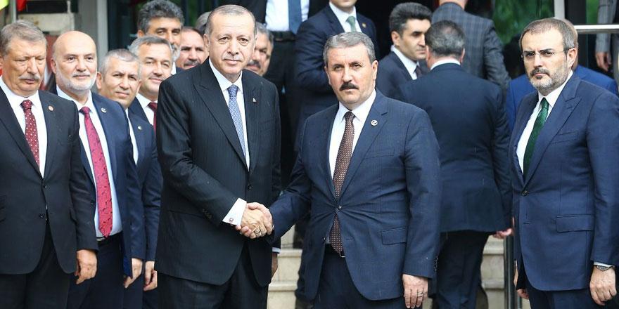 BBP lideri Mustafa Destici'den Erdoğan'ı kızdıracak Andımız açıklaması