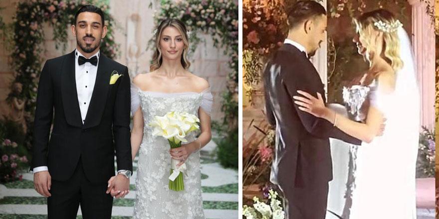 İrfan Can Kahveci Gözde Doyran ile evlendi