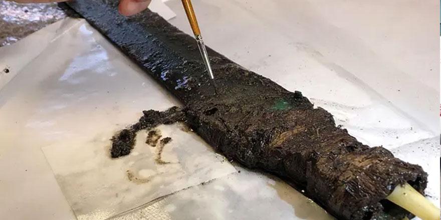 Tunç Çağı'na ait 3 bin yıllık kılıç bulundu