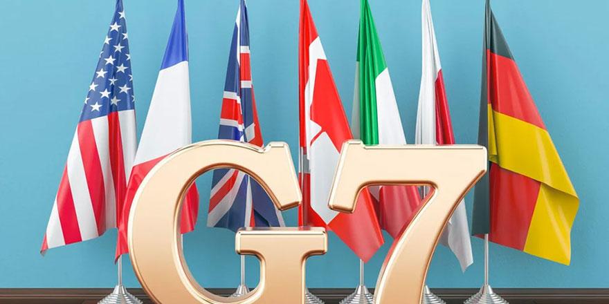 G7: Rusya'nın geçici işgalini tanımıyoruz