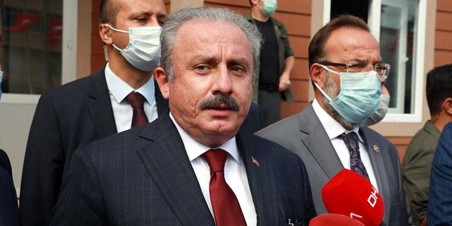 TBMM Başkanı Mustafa Şentop'tan flaş HDP açıklaması