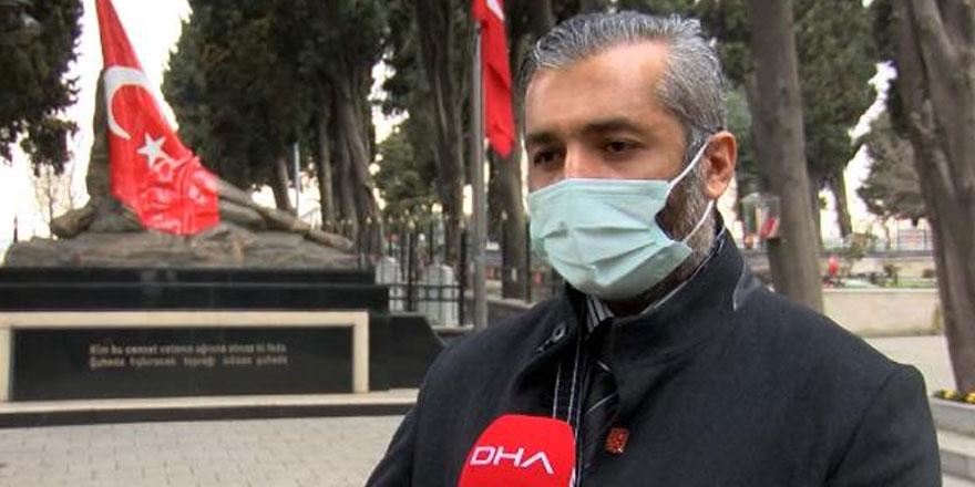 Ekrem İmamoğlu'nun şehitlik ziyaretinde olay çıkaran Mustafa İlker Yılmaz bakın kim çıktı
