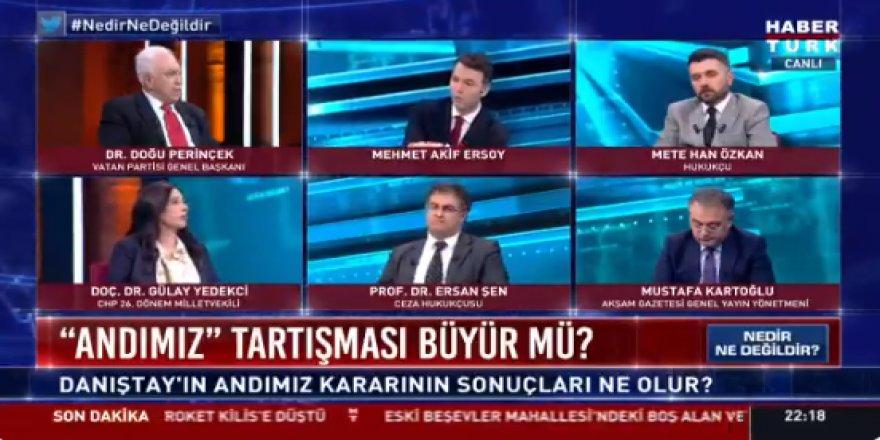 Doğu Perinçek'in o sözleri Gülay Yedekçi'yi kızdırdı: Bir kadın siyasetçi olarak Meral Akşener'den izin almadım ama...