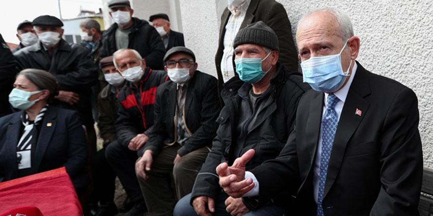 CHP lideri Kemal Kılıçdaroğlu Tekirdağ'da vatandaşların sorunlarını dinledi