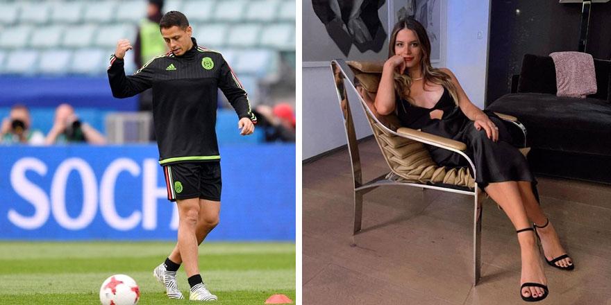 Javier Hernandez'in eşi Sarah Kohan'den küvette çırılçıplak poz