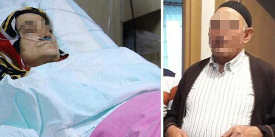 Erzurum'da yaşayan M.A. isimli erkek tartıştığı eşi M.A.'yı göğsünden vurdu!