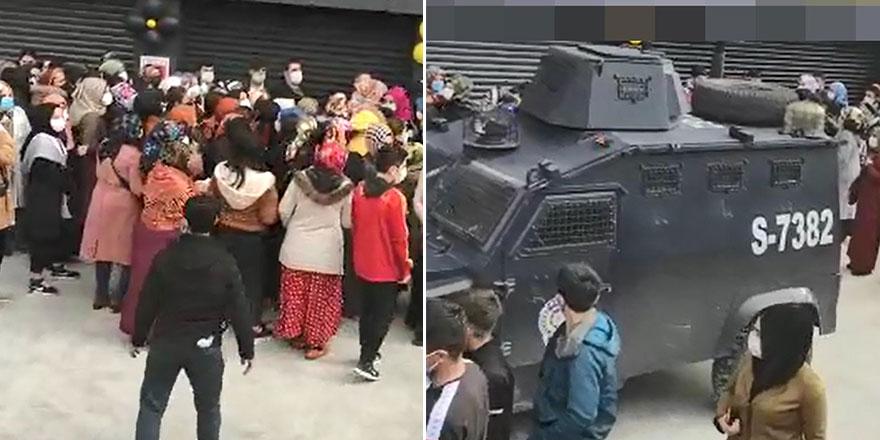 Diyarbakır'da indirim izdiham! Polis ekipleri müdahale etti