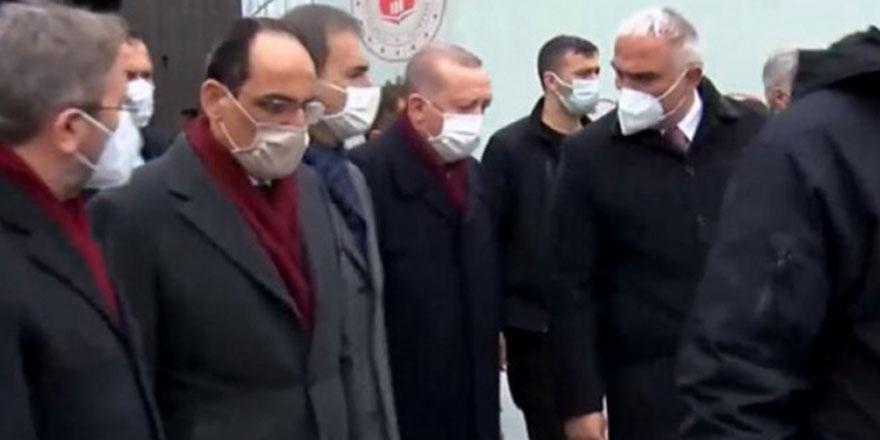 Erdoğan Taksim Camii ve AKM'yi ziyaret etti