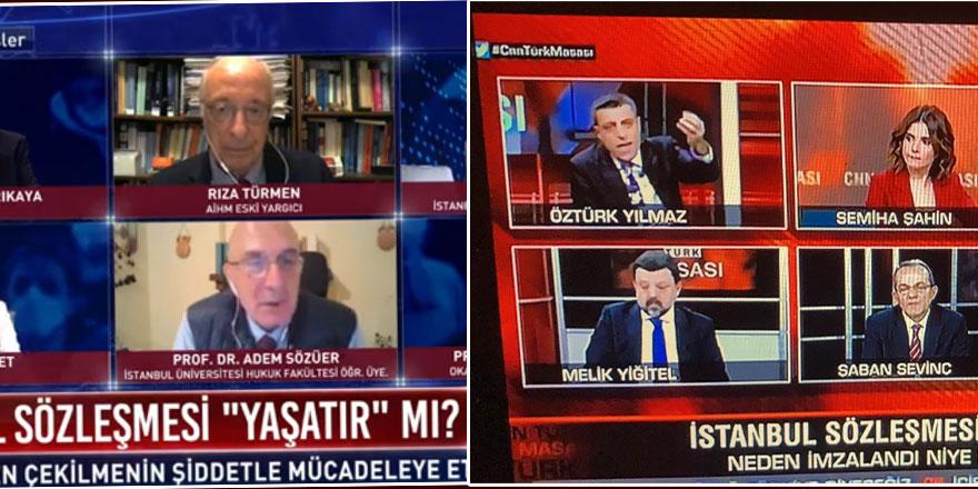 Televizyon programlarındaki İstanbul Sözleşmesi tartışmasında dikkat çeken detay!