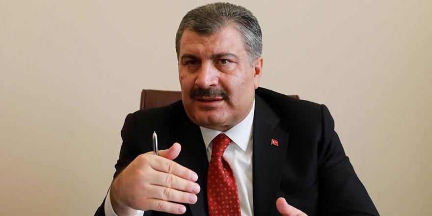 Bakanı Fahrettin Koca'dan Cumhurbaşkanı Erdoğan'a tebrik
