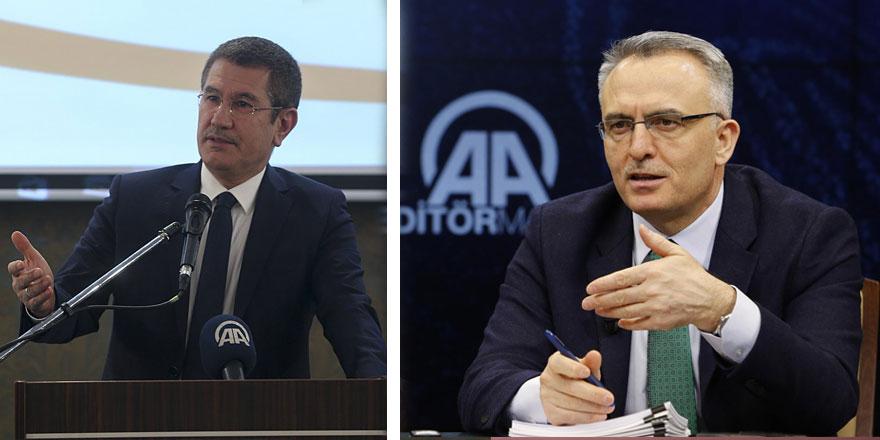 AKP'li Nurettin Canikli'den görevden alınan Naci Ağbal'a şok suçlama