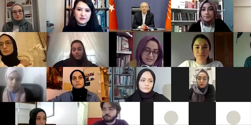 Genç kadınlar Kılıçdaroğlu'na bunu sordu: Ana muhalefet partisi orada mıydı?
