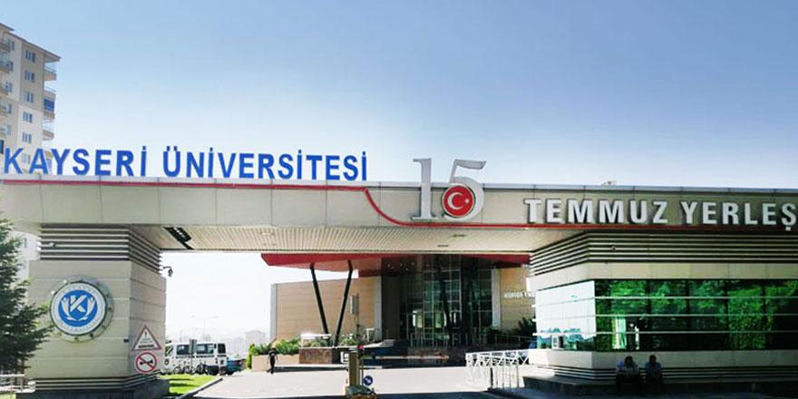 Kayseri Üniversitesi rektörüne 'yabancı menşei' şartlı araç