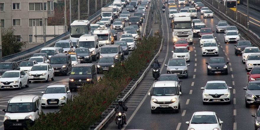 Trafiğe kayıtlı toplam taşıt sayısı açıklandı