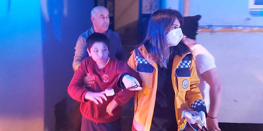 Zonguldak'ta sobadan sızan gazı fark eden Ramazan Uslu ailesinin hayatını kurtardı