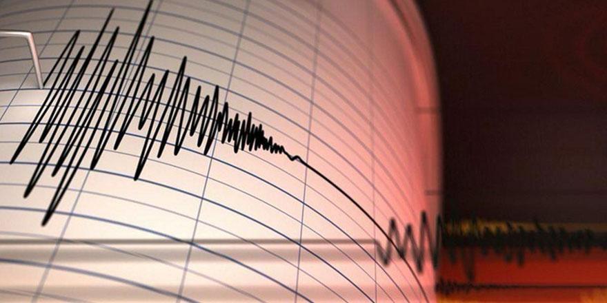Ege'de 3.3 büyüklüğünde deprem