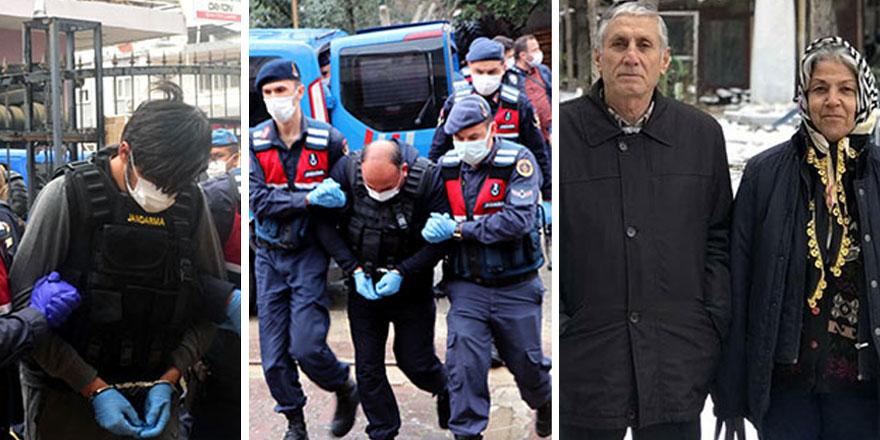 Adana'da emekli çiftin cinayet şüphelisi Oğuzhan Ünlü'den kan donduran ifade!