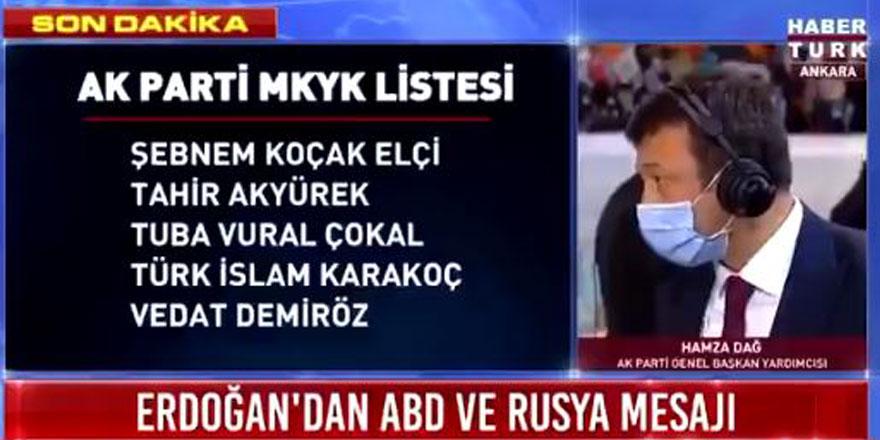 Kongreye damga vuran tartışma! AKP'li Hamza Dağ ile Nagehan Alçı arasında olay diyalog