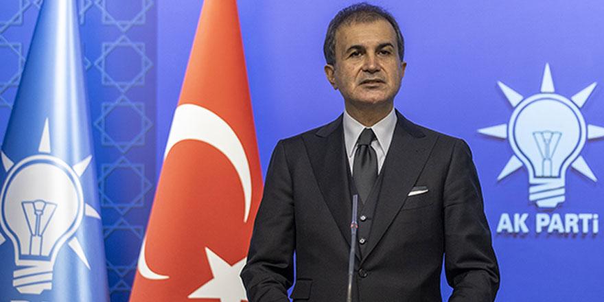 AKP'li Ömer Çelik'ten Yunan Bakana sert tepki