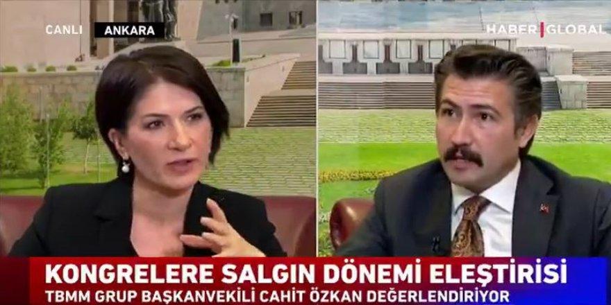 AKP'li Cahit Özkan'dan kalabalık kongre eleştirilerine çok konuşulacak yanıt