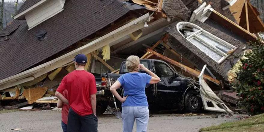 ABD'de hortum felaketi: 5 kişi öldü