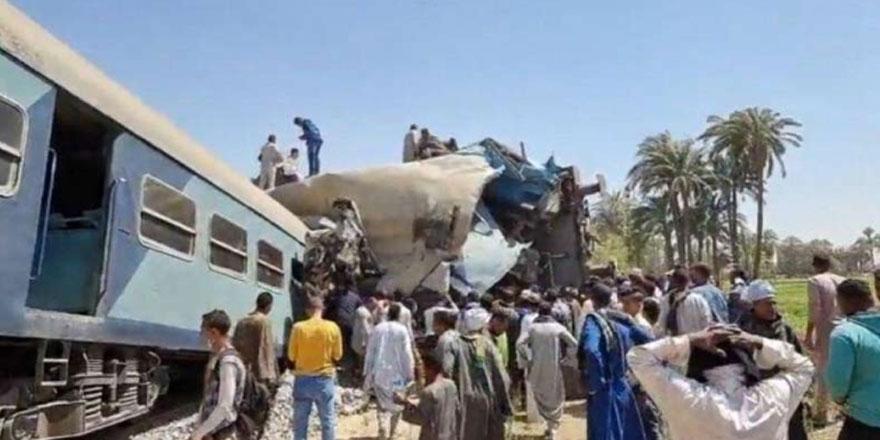 Mısır'da tren kazası: 32 kişi yaşamını yitirdi