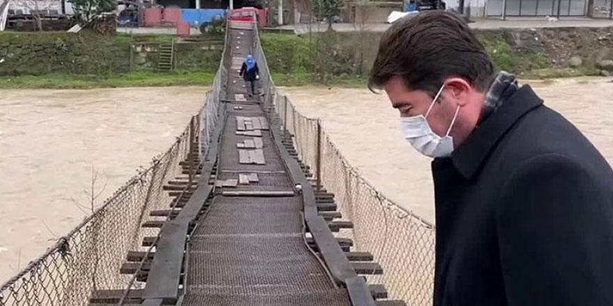 Makam odasına 898 bin liralık mobilya alan Trabzon Belediye Başkanı Murat Zorluoğlu'na   'tahta köprü' tepkisi