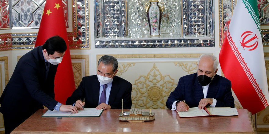 İran ve Çin 25 yıllık işbirliği anlaşması imzaladı