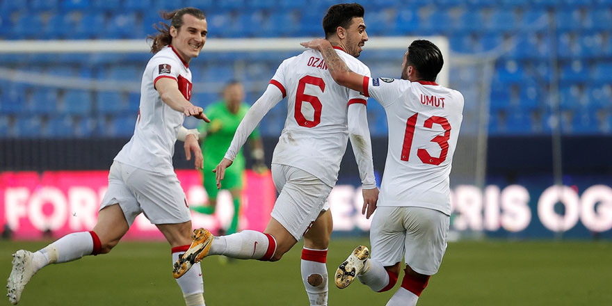 A Milli Takımımız Norveç'i 3 golle yendi