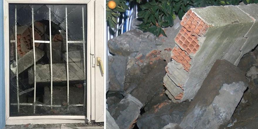 Eyüpsultan'da korku dolu anlar: Deprem oluyor zannettik